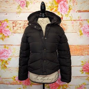 J. Crew Hooded Puffer Jacket